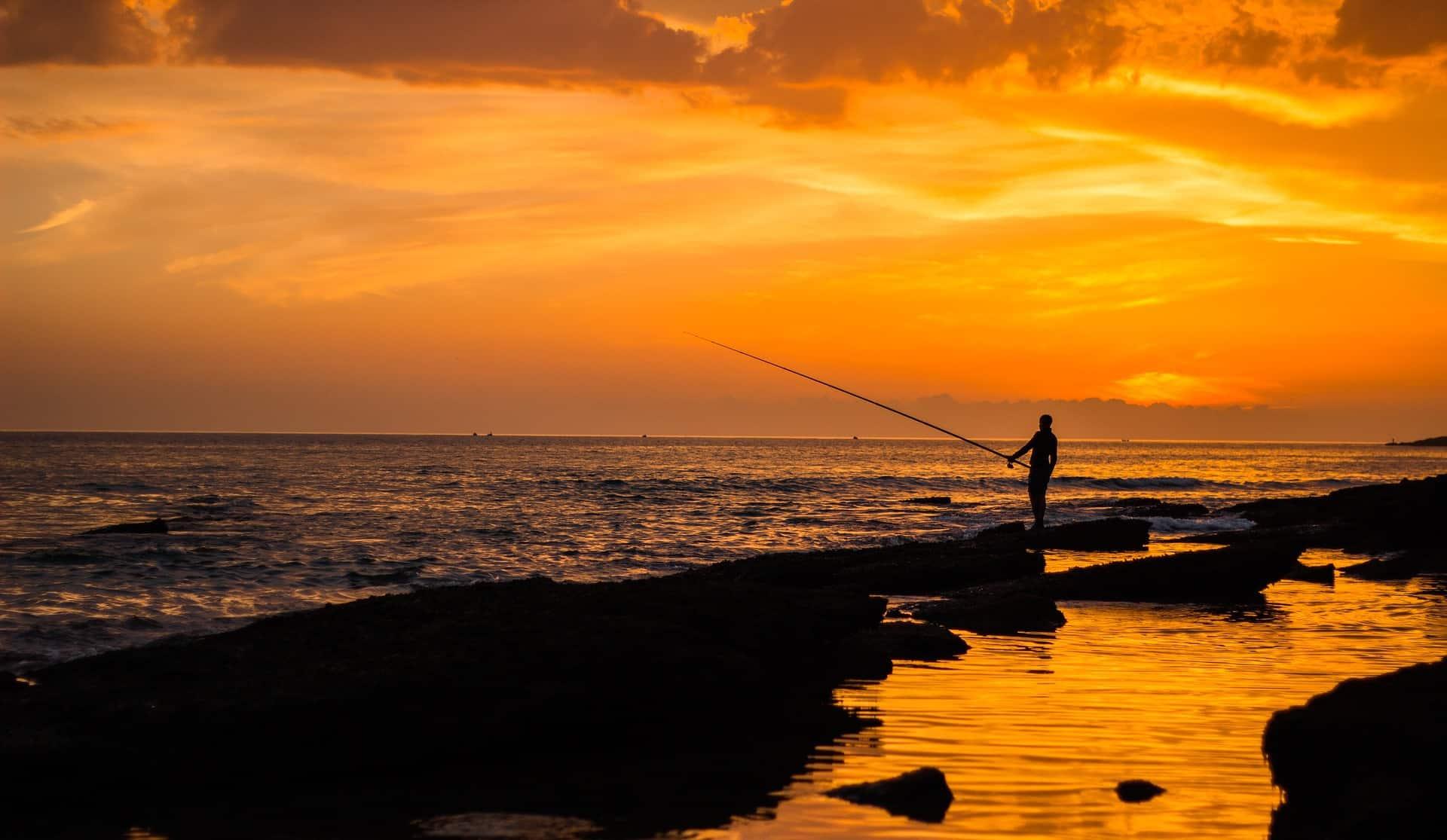 Maroko Agadír západ slunce