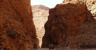 soutěska Tondra v Maroku