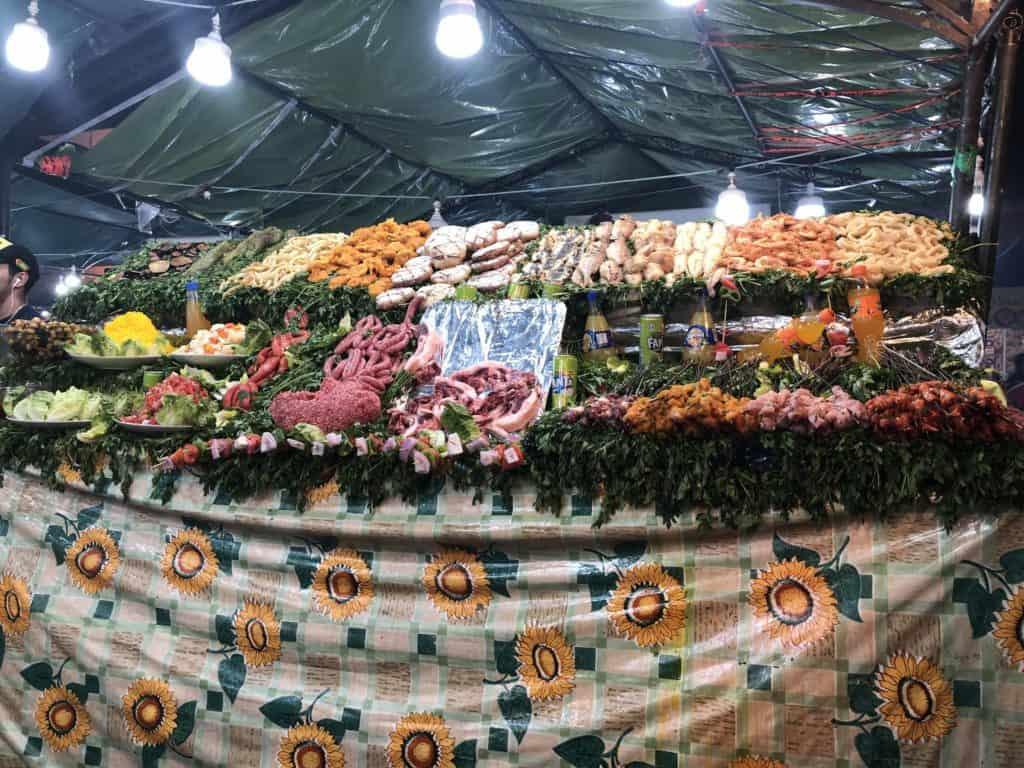 jídlo na tržišti