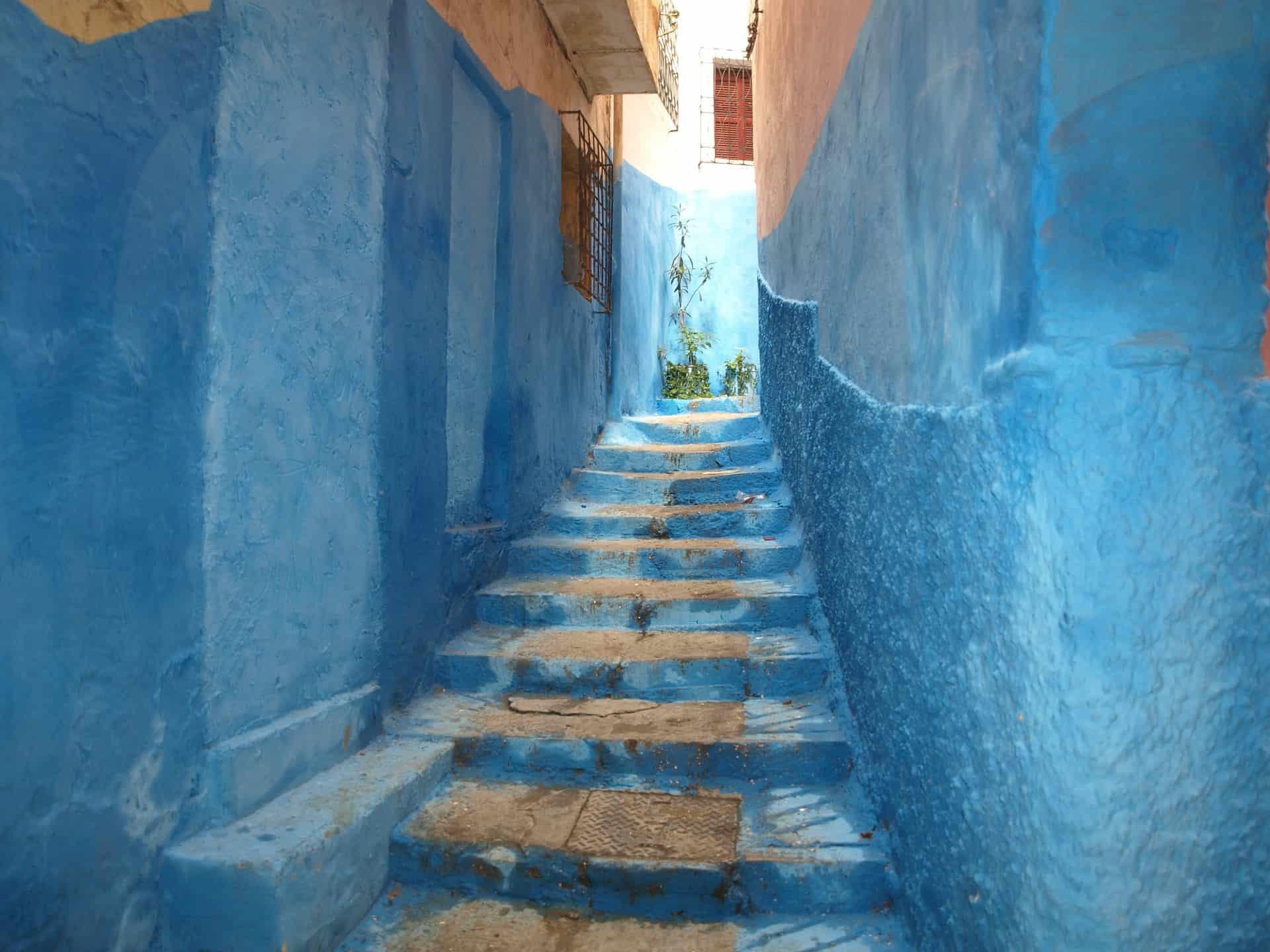 Modré město Maroko