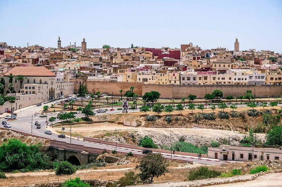 pohled na Medinu